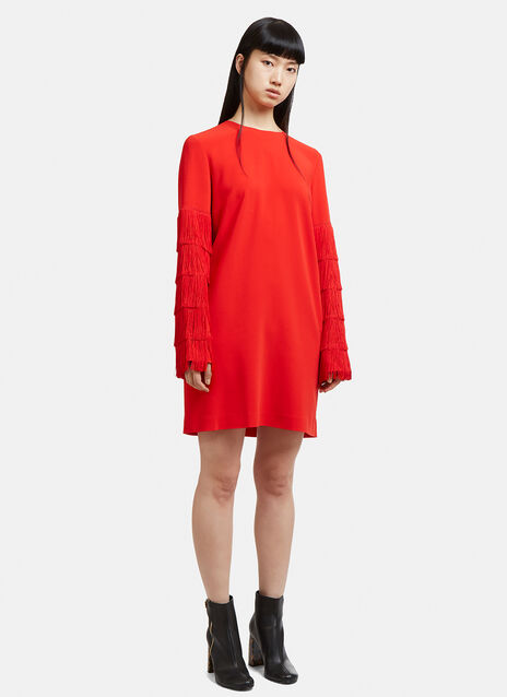 Stella McCartney Fringed Sleeve Dress