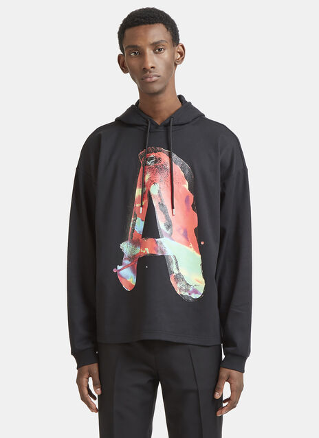 Alyx Watercolour Graphic Hooded Sweatshirt