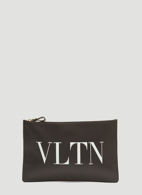 Valentino VLTN Leather Pouch