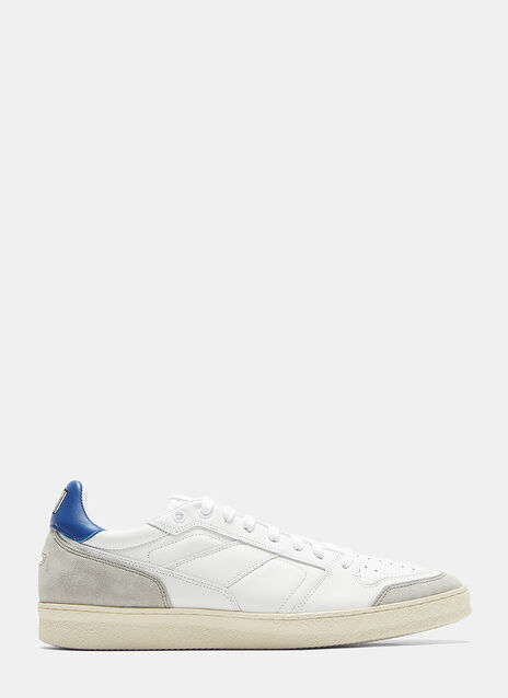 Ami Panelled Low-Top Sneakers