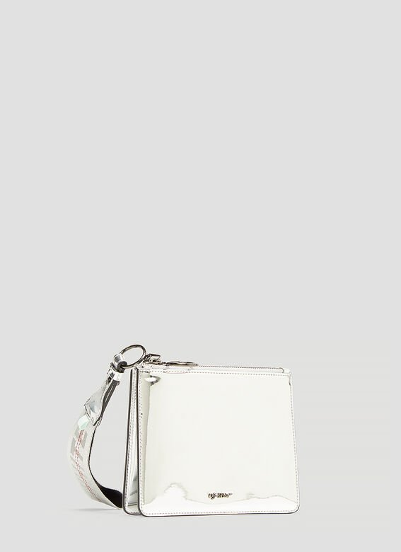 Off-White Flat Double Mirror Pouch