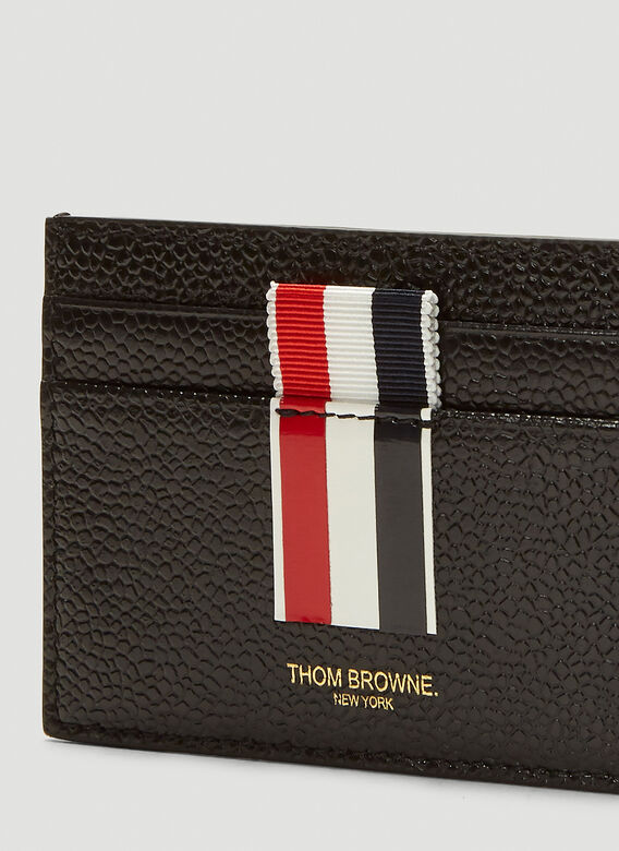 Thom Browne Contrast Panel Card Holder 4