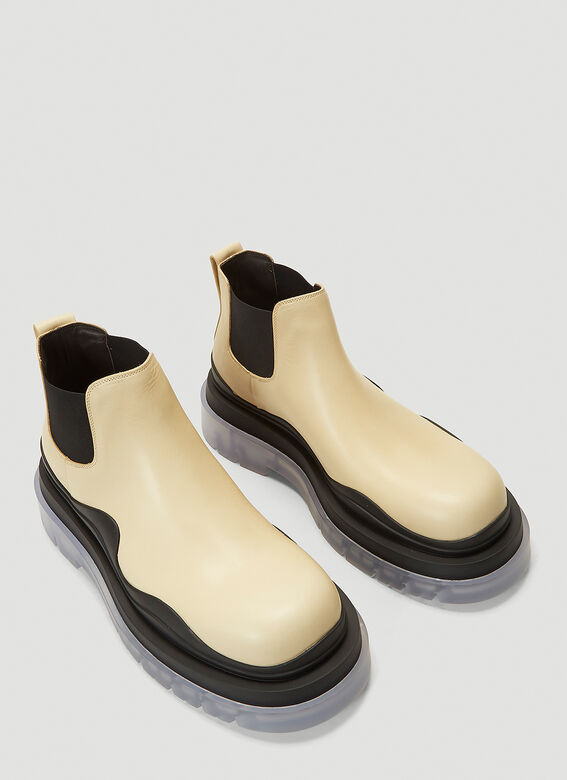 Bottega Veneta Tire Ankle Boots 2