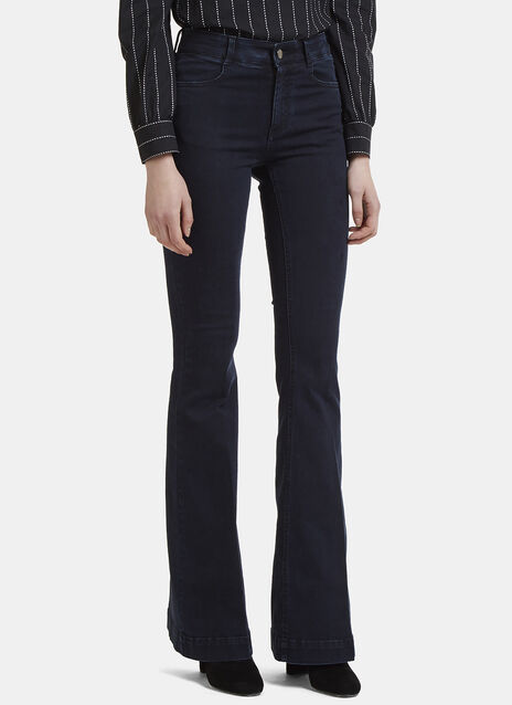 Stella McCartney High-Waisted Kick Flare Jeans