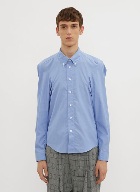 Hed Mayner Button-Down Shirt