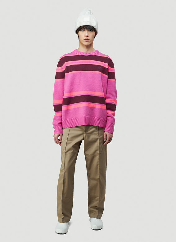 Acne Studios Striped Knit Sweater 2