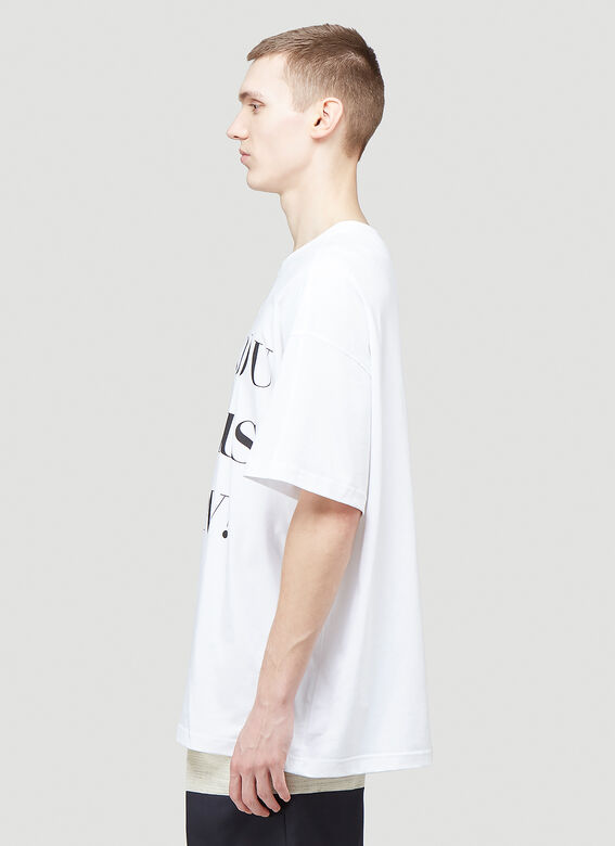 Botter LEANING FORWARD BOTTER T-SHIRT-DO YOU SEE US NOW? 3