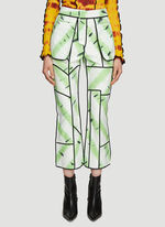 ASAI Jungle Fever Hand Painted Patchwork Reversible Pants