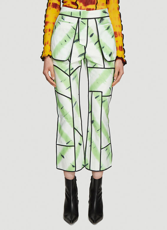 ASAI Jungle Fever Hand Painted Jeans 1