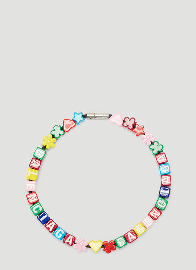 Balenciaga Toy Choker Necklace