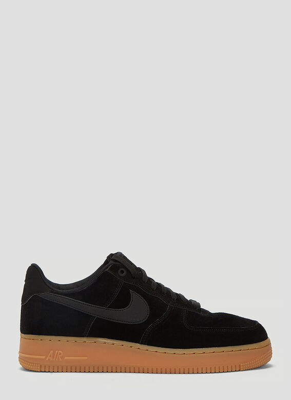 online store 6ad0b d7115 Air Force 1 Suede Sneakers in Black