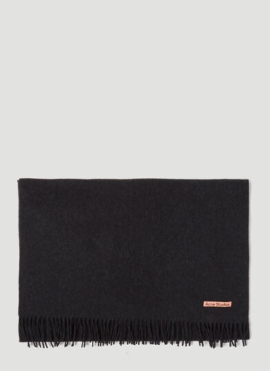 아크네 스튜디오 Acne Studios Canada New Scarf in Black