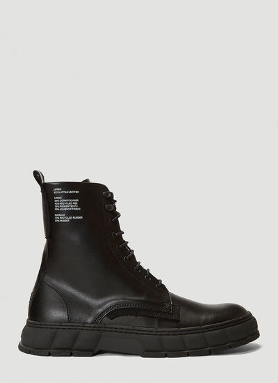Virón 1992 Faux-Leather Boots