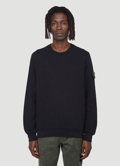 Stone Island Logo-Patch Sweatshirt