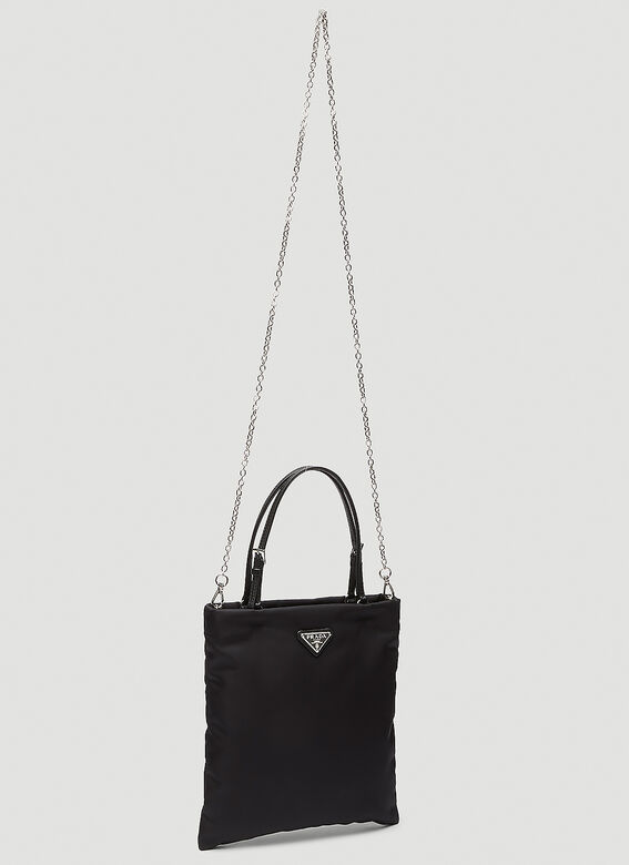 Prada NYLON TOTE WITH STRAP 3