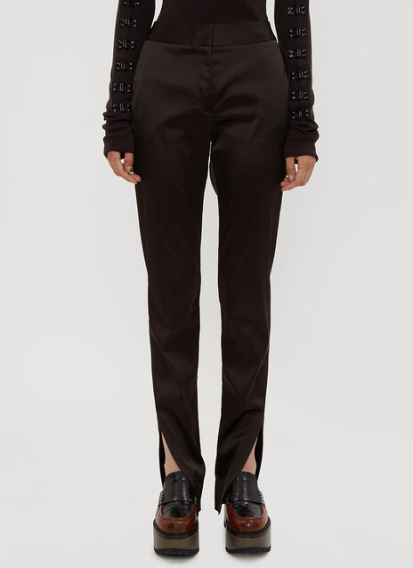 Olivier Theyskens Tailored Split Hem Pants