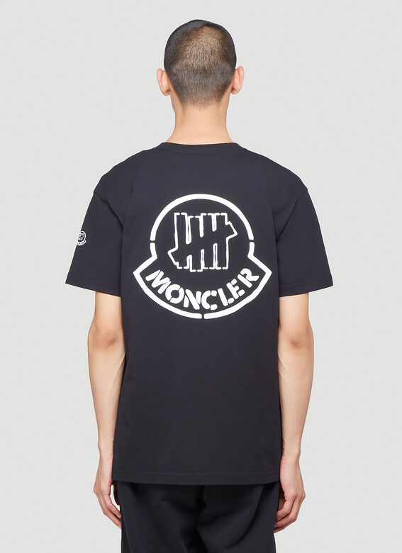 MONCLER Cottons Undefeated T-Shirt in Black