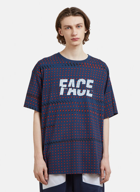 Facetasm Polka Dot Print T-Shirt