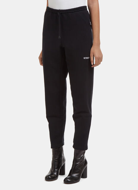 Vetements Embroidered Logo Sweatpants