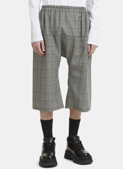 Raf Simons Short Checked Pants