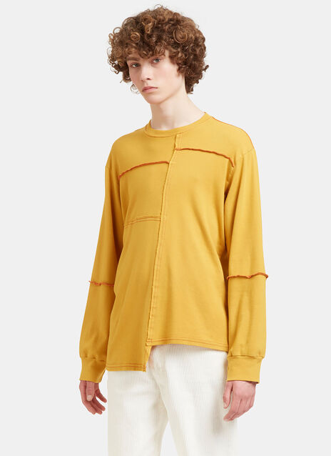 Lapped Stitched Sweater