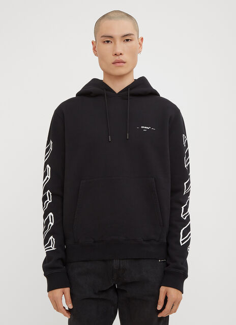 Off-White Hooded Arrow Sweatshirt