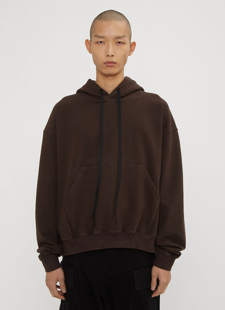 Unravel Project Hooded Oversized Sweater