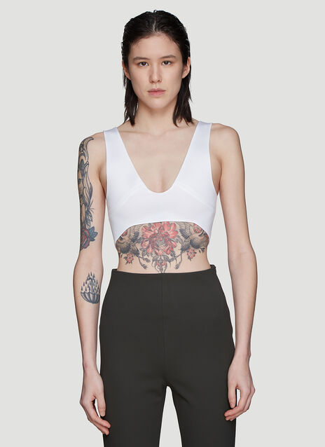 Atlein Constructed Cropped Top