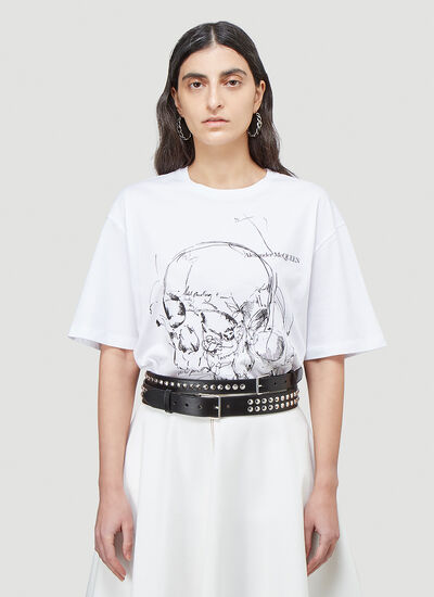Alexander McQueen Graphic T-Shirt