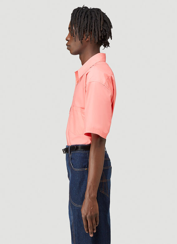 Martine Rose DUEL S/S SHIRT 100%CO 3