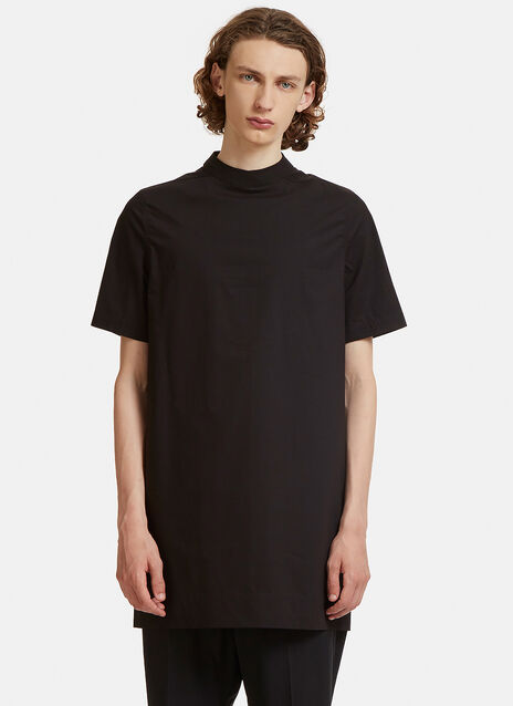 Rick Owens Moody Short Sleeved Tunic Top