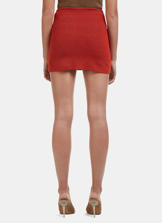 sélection premium bf9c4 fb4c3 Yeezy Mini Skirt in Red | LN-CC