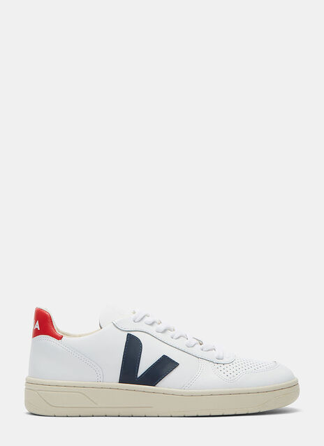 V-10 Mid-Top Nautico Sneakers