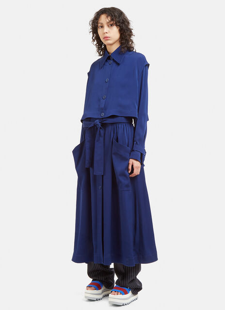 Stella Mccartney Caban Soft Trench Coat