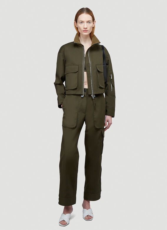 Helmut Lang Double Cropped Top 2