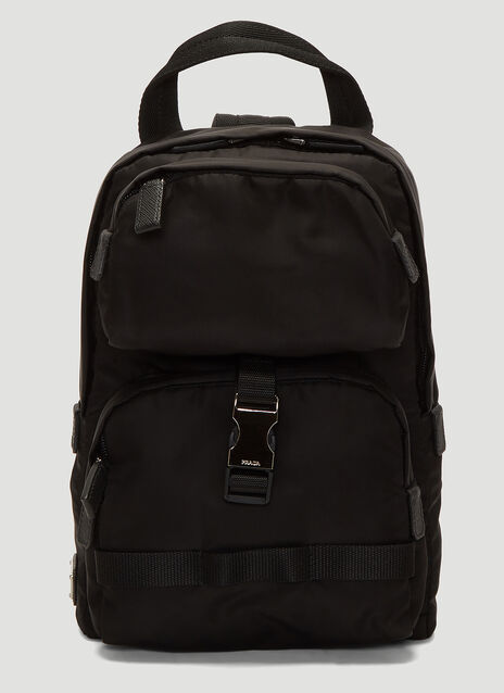 Prada Fabric Shoulder Strap Backpack