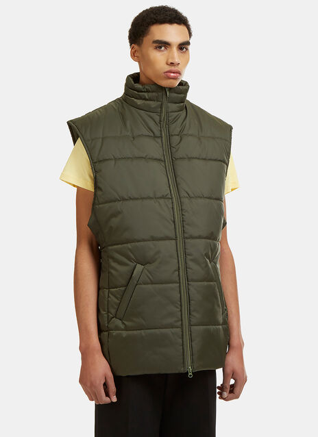 Martine Rose Oversized Padded Gilet Jacket