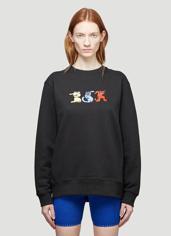 Butter Sessions RITTLE KING EMBROIDERED CREWNECK 1