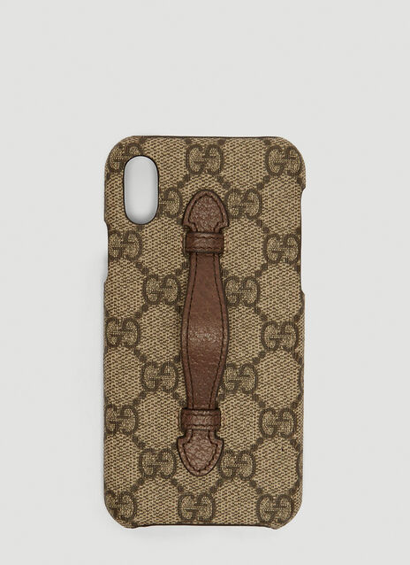 Gucci GG Supreme iPhone X Case