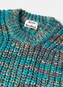 Acne Studios Zora Oversized Multi Knit Sweater