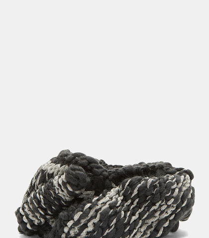 Alfa Two-Tone Lurex Knit Headband