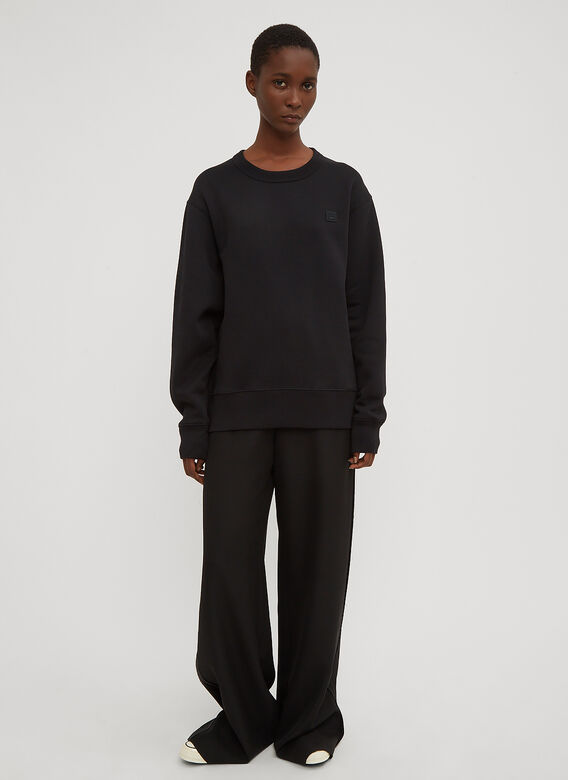 Acne Studios Fairview Oversized Face Embroidered Sweater 2