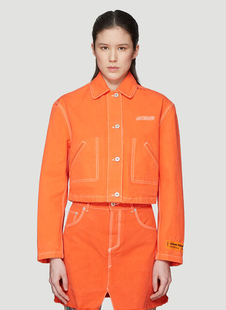 Heron Preston Crop Jacket