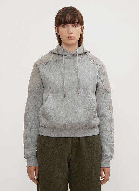 GmbH Renwhar Panel Hooded Sweatshirt