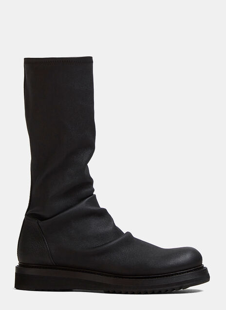 Rick Owens Sock Creeper Boots