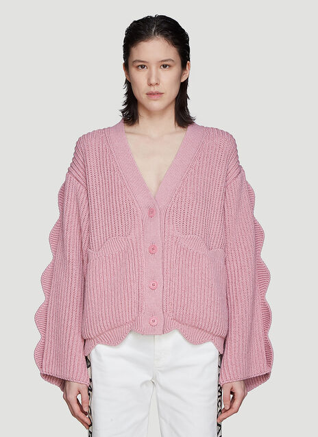 Stella McCartney Scalloped Knit Cardigan