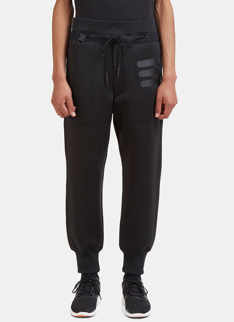 Technical Mesh Panelled Neoprene Pants