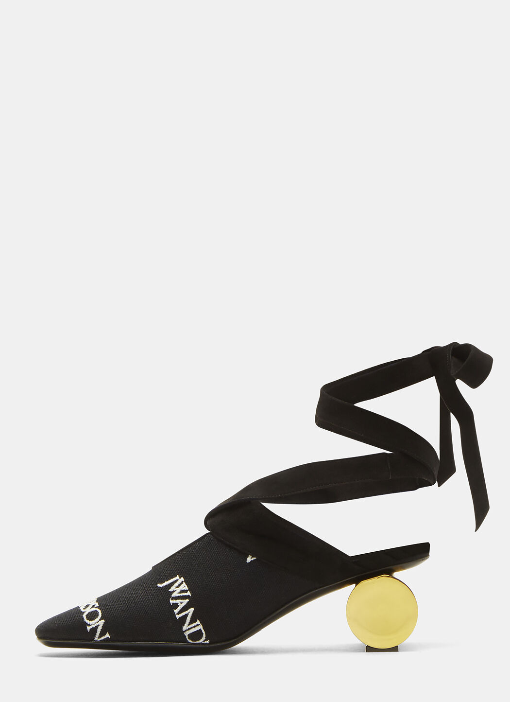 J.W.Anderson Embroidered Logo Cylinder Ball Heels ixnGKNg