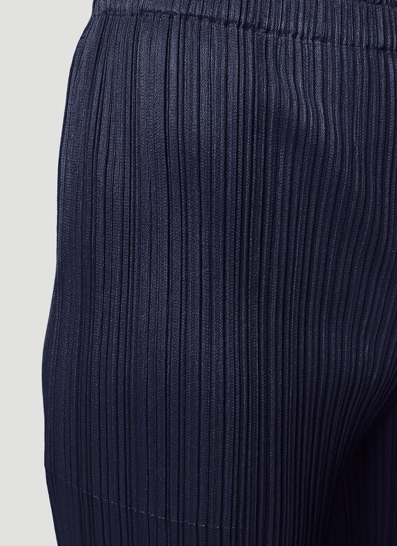 Pleats Please Issey Miyake Basics Straight Leg Pants 2