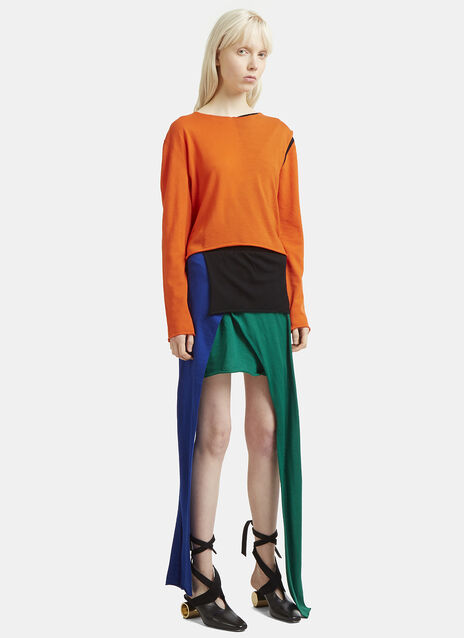 JW Anderson Asymmetric Knit Dress